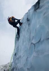 Eisklettern am Gletscher Vatnajökull Iceland