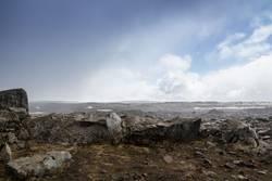 """Island 15/7 - """"Steinwüste"""" am Dettifoss"""