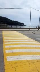 Fußgängerüberweg in Südkorea