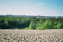 Sand, Park and blue Sky