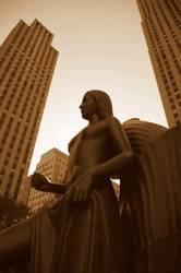 Rockefeller Statue