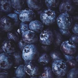 Blaue Beeren