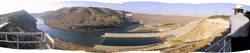Panorama Atatürk-Staudamm