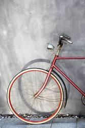 Mein rotes Fahrrad