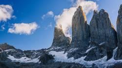 Torres del Paine at Sundown
