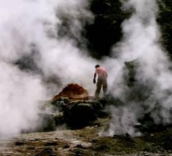 Vulkanarbeiter