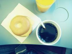 Frühstück mit Tiffany