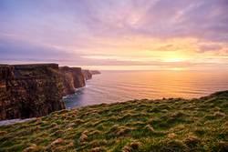 Cliffs of Moher im Sonnenuntergang