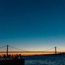 Lissabon / Brücke / Tejo