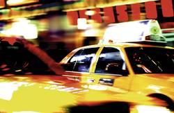 New York Cab, Times Square, Manhattan, New York, N.Y.
