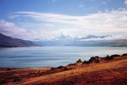 land of blue lakes.