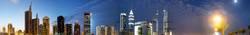 Dubai bei Nacht neu