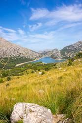 Gorg Blau auf Mallorca im Tramuntana Gebirge Wandern, Erwander