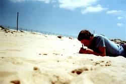 writing.in.the.sun