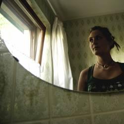 grün in the bathroom