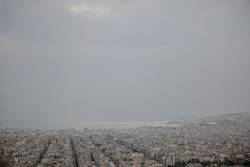 Athens with Piräus harbor