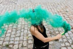 The amazing green smoke...