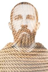 Man and rope