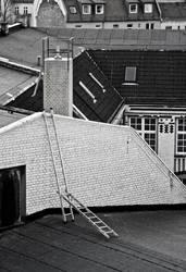 Räuberleiter auf Berliner Dächer