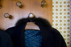 An der Garderobe