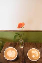 Guten Morgen-Kaffee