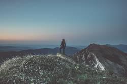 Abends am Gipfel
