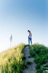 On a hill (II)