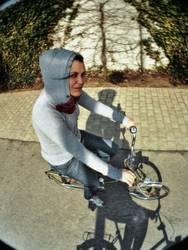 du hast aber ein schönes fahrrad !!