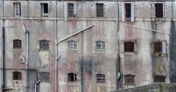 Fassade eines Gefängnis