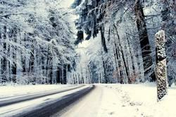 Winterreifen-Teststrecke