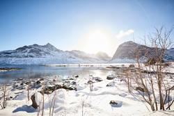 Traumwetter auf den Lofoten