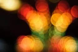 gelb, orange, rot, grün