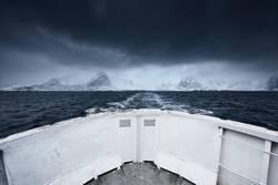 Schiffsfahrt von den Lofoten