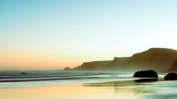 Atlantik im Morgengrauen