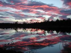 Abendwolken