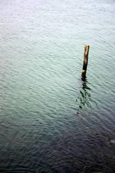 einsam auf see