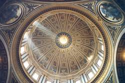 Rom Trip 2002 Petersdom (Nebenkuppel)
