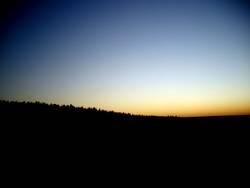 Im Osten geht die Sonne auf