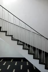 diagonale in schwarz-weiß