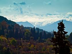 la sierra nevada (andalucia)