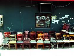Stühle von Manhattan
