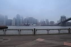 Skyline im Nebel!
