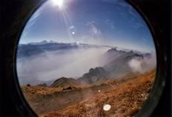 Alpenmärchen aus des Fisches Auge