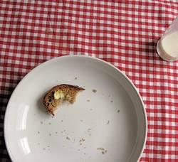 karges Frühstück