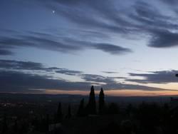 Himmel über Andalusien
