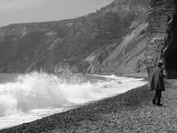 Philosoph am Meer