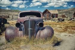 das alte AUTO von Bodie