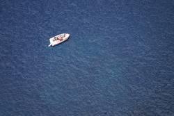 Das Boot im Meer