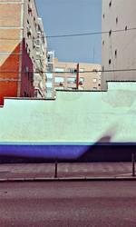 Follow the blue line...