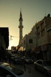 Stadtverkehr im nahen Osten